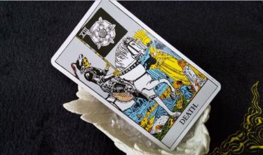 タロットカードの意味!恋愛占いでの解釈!大アルカナ死神について!