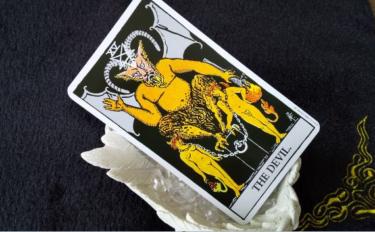 タロットカード悪魔の意味!恋愛占いで二人の未来を知りたい!